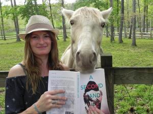 Pamela Crane with Tinkerbell_author pic